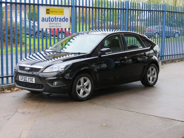 USED 2010 60 FORD FOCUS 1.6 ZETEC 5d 99 BHP
