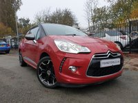 USED 2013 13 CITROEN DS3 1.6 E-HDI DSTYLE PLUS 3d 90 BHP 2KEYS+0 ROAD TAX+CLIMATE+AUX+PARK+MEDIA+PRIVGLASS+HISTORY+ALLOY+