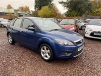 USED 2008 58 FORD FOCUS 1.8 ZETEC 5d 125 BHP