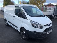 USED 2016 16 FORD TRANSIT CUSTOM 290 L1H1 100PSi Panel Van