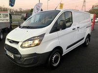 2015 FORD TRANSIT CUSTOM 270 L1H1 2.2TDCi 100PSi Panel Van £9750.00