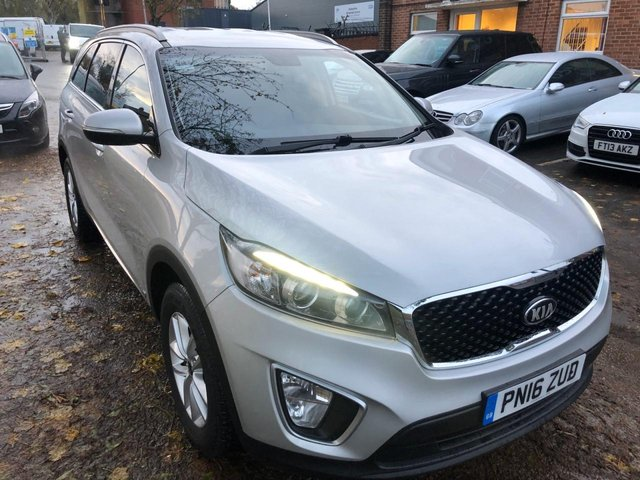 USED 2016 16 KIA SORENTO 2.2 CRDI KX-1 ISG 5d 197 BHP !!!! 1 OWNER !!!!!   VERY CLEAN WELL MAINTAINED EXAMPLE. FULL SERVICE HISTORY. AIR CON. CRUISE CONTROL. AUX/USB, PARKING SENSORS. ALLOY WHEELS