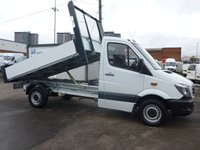 2014 MERCEDES-BENZ SPRINTER 313 CDI MWB AUTOMATIC TIPPER, 130 BHP [EURO 5] £9995.00