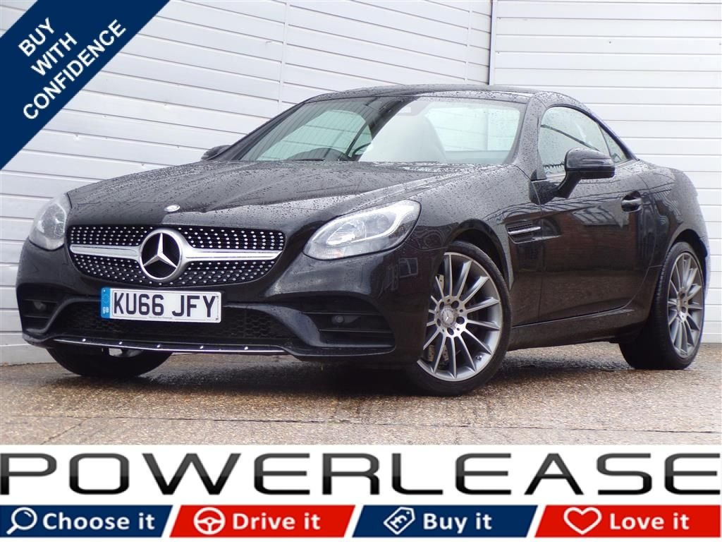 USED 2016 66 MERCEDES-BENZ SLC 2.1 SLC 250 D AMG LINE 2d AUTO 201 BHP 30POUNDTAX GLASS ROOF DAB FSH