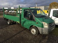 USED 2009 58 FORD TRANSIT T350/115 LWB TWIN REAR WHEEL DROPSIDE WITHTAIL LIFT