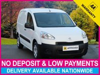 USED 2015 64 PEUGEOT PARTNER 1.6 HDI 850 KG HEAVY WEIGHT L1 PANEL VAN 850KG HEAVY WEIGHT BULKHEAD