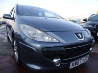 2007 PEUGEOT 307 1.6 SW SE 5d 108 BHP LOW MILES CLEAN CAR £1895.00