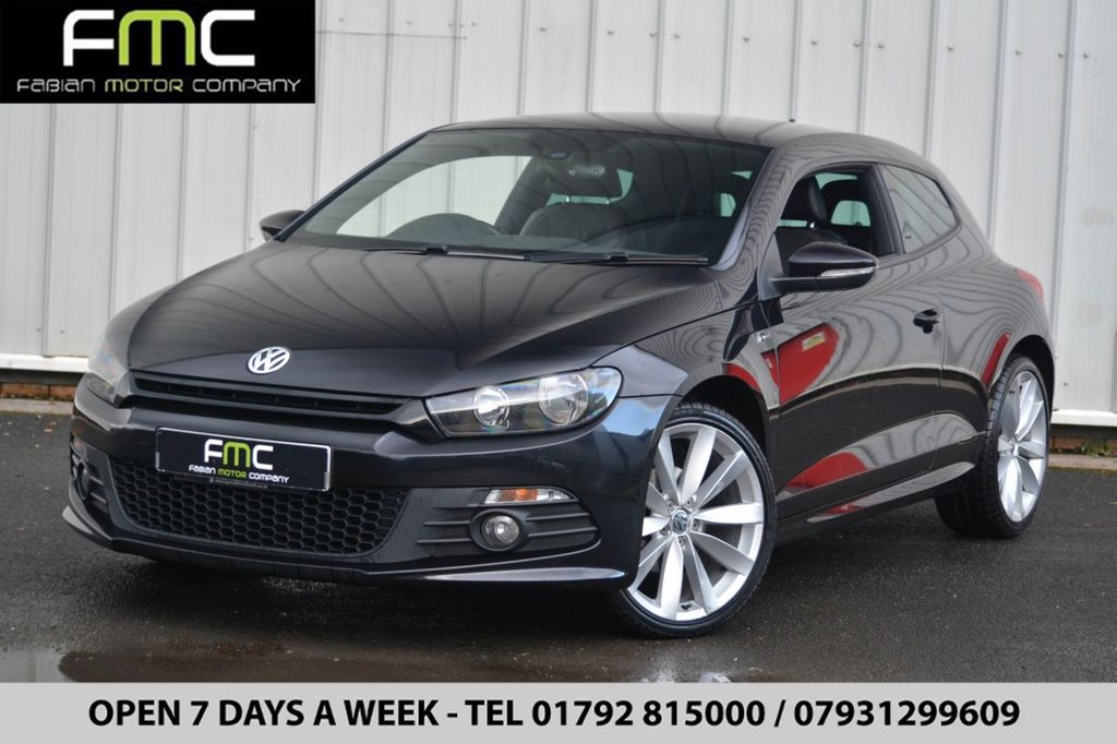 USED 2012 12 VOLKSWAGEN SCIROCCO 2.0 R LINE TDI BLUEMOTION TECHNOLOGY 2d 140 BHP Part Ex Welcome - Open 7 Days - Finance - 01792 815000