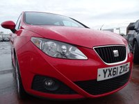 USED 2011 61 SEAT IBIZA 1.4 SE COPA 5d 85 BHP GREAT FIRST CAR