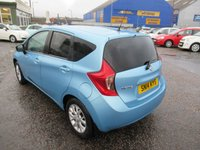 USED 2014 14 NISSAN NOTE 1.2 ACENTA PREMIUM SAFETY 5d 80 BHP