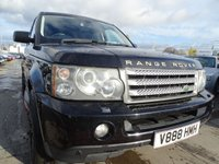 USED 2007 V LAND ROVER RANGE ROVER SPORT 3.6 TDV8 SPORT HSE LOOKS GREAT GREAT SERVICE HISTORY