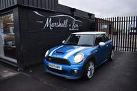 USED 2007 07 MINI HATCH COOPER S 1.6 COOPER S 3d 172 BHP STUNNING CONDITION AND COLOUR - FULL FACTORY WORKS BODYKIT - 8 STAMPS TO 71K - SAT NAV - KEYLESS ENTRY/START - LEATHER M/F STEERING WHEEL - PRIVACY GLASS