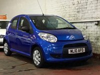 USED 2010 10 CITROEN C1 1.0 VT 5d 68 BHP IDEAL FIRST CAR WITH LOW MILEAGE!