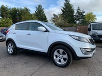 2013 KIA SPORTAGE 1.7 CRDI 2 5d 114 BHP WITH FULL MAIN DEALER SERVICE HISTORY £6000.00