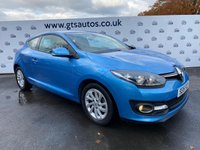 USED 2015 15 RENAULT MEGANE COUPE 1.5 DCI DYNAMIQUE TOMTOM ENERGY DCI  110 BHP