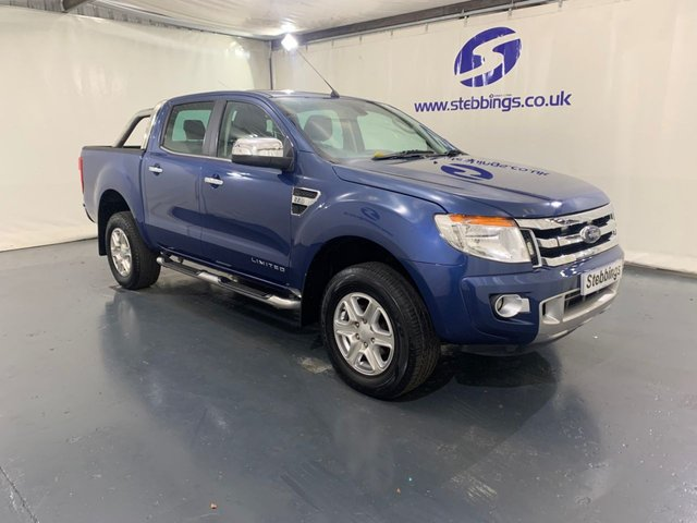 2014 14 FORD RANGER 2.2 LIMITED 4X4 DOUBLE CAB TDCI 4d 148 BHP
