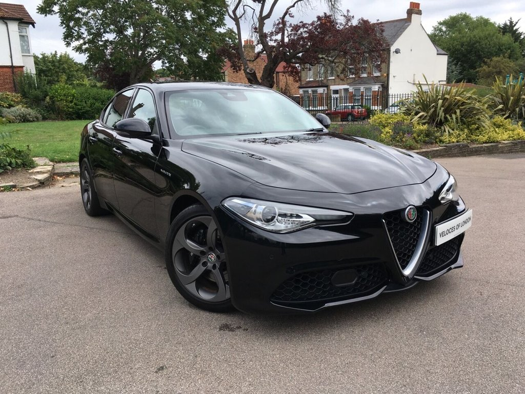 USED 2018 18 ALFA ROMEO GIULIA 2.0 TB VELOCE 4d 277 BHP ..UK WIDE DELIVERY AVAILABLE..