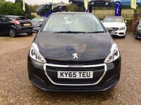 USED 2015 65 PEUGEOT 208 1.2 ACTIVE 5d 82 BHP DAB DIGITAL RADIO, MIRROR LINK + WEB BROWSER, BLUETOOTH, MEDIA, TOUCH SCREEN INTERFACE, MULTI-FUNCTION STEERING WHEEL, TYRE PRESSURE MONITORING SYSTEM, ISOFIX, FOLDING REAR SEATS, ONE FORMER KEEPER, , AIR CONDITIONING, ALLOYS, BLUETOOTH, 4 PEUGEOT SERVICE STAMPS, MOT 13/09/2020, SPARE KEY