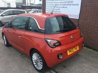 USED 2013 VAUXHALL ADAM 1.4 GLAM ADAM GLAM PAN GLASS ROOF LOW TAX FULL TEST AND SERVICED