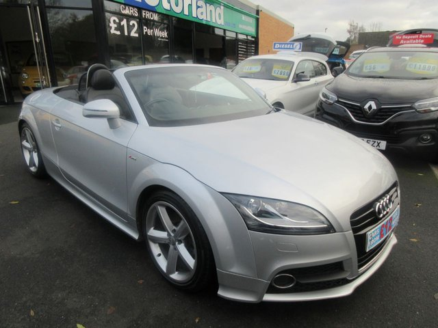 USED 2011 11 AUDI TT 2.0 TFSI S LINE 2d 211 BHP CALL 01543 379066... 12 MONTHS MOT... 6 MONTHS WARRANTY... 1 LADY OWNER FROM NEW... JUST ARRIVED.. CONVERTIBLE