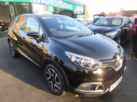 USED 2017 17 RENAULT CAPTUR 0.9 DYNAMIQUE NAV TCE 5d 90 BHP CALL 01543 379066... RENAULT WARRANTY UNTIL 2020... JUST ARRIVED.. FULL SERVICE HISTORY