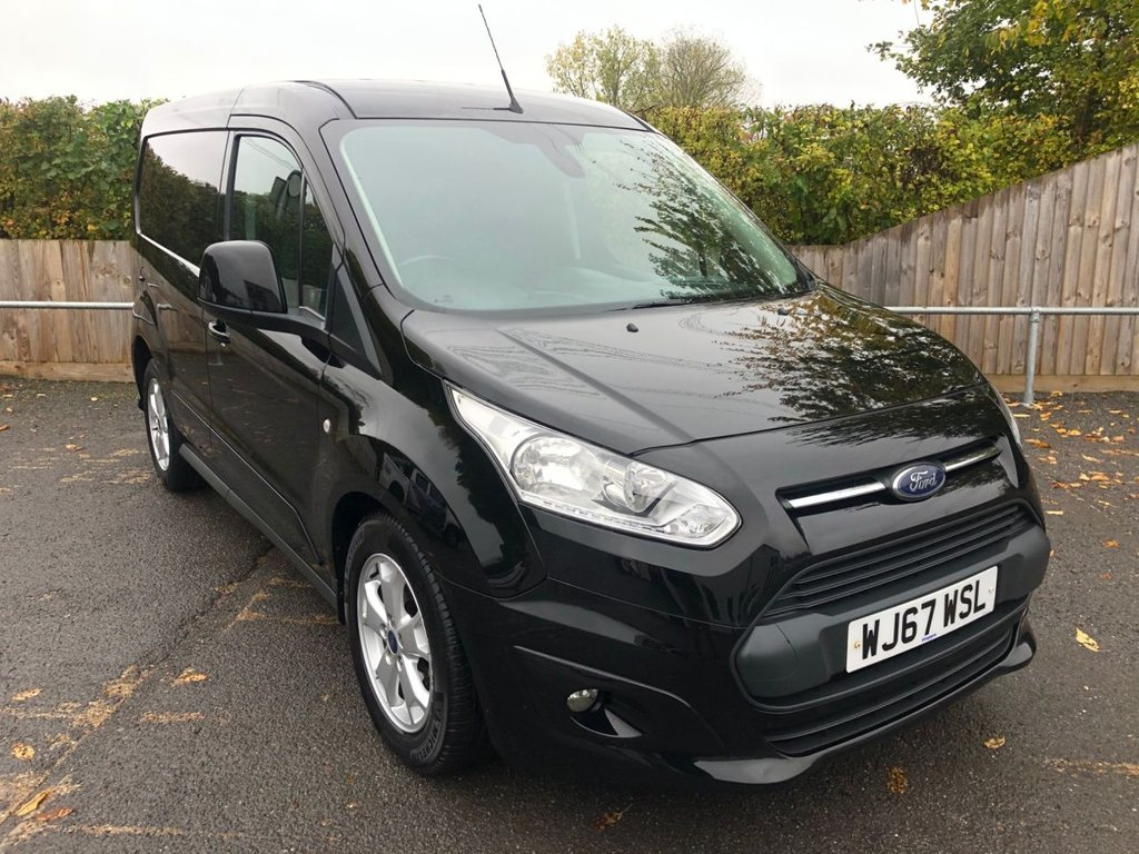 USED 2017 67 FORD TRANSIT CONNECT 1.5TDCI T200 LIMITED (EURO 6)(120 BHP)