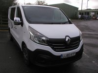 USED 2015 65 RENAULT TRAFIC 1.6 SL27 BUSINESS DCI 115 BHP VAN - NO VAT Rear Seats/Side Windows fitted, 54000 miles, Service History