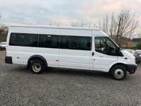 USED 2012 62 FORD TRANSIT 2.2 430 SHR BUS 17 STR 134 BHP *LOW MILEAGE*