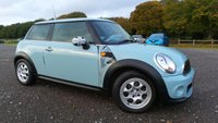 USED 2013 MINI HATCH ONE 1.6 ONE 3d AUTO 98 BHP SERVICE HISTORY, 2 X KEYS, FULL LEATHER TRIM, ALLOY WHEELS, AIR-CONDITIONING, CD-PLAYER, DAB RADIO, ELECTRIC WINDOWS, REMOTE LOCKING, ELECTRIC MIRRORS, AUX POINT, NATION WIDE DELIVERY, SAME DAY FINANCE