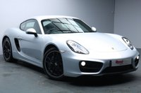 USED 2014 64 PORSCHE CAYMAN 2.7 24V PDK 2d 275 BHP FULL PORSCHE SERVICE HISTORY+LEATHER+AUTO CLIMATE CONTROL+SOUND PLUS PACK+PHONE PREPARATION