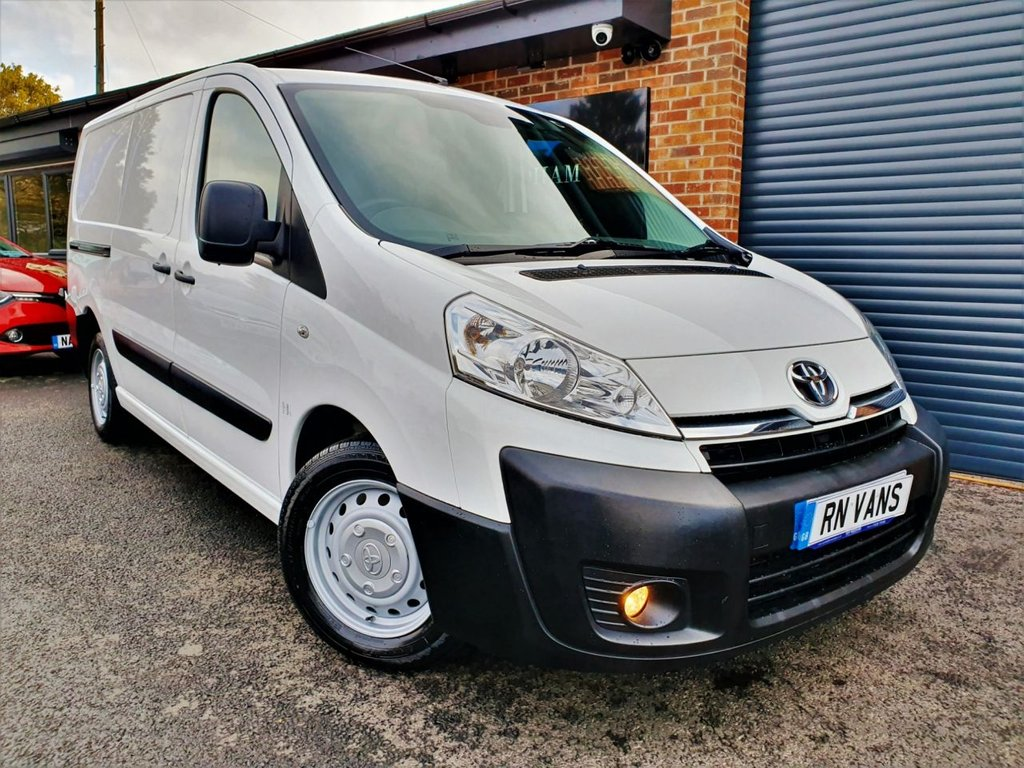 USED 2014 64 TOYOTA PROACE 2.0 L2H1 HDI 1200 P/V 127 BHP *** ONE OWNER - FULL HISTORY - RACKING ***