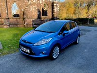 USED 2011 10 FORD FIESTA 1.4 TITANIUM 5d 96 BHP **ZERO DEPOSIT FINANCE AVAILABLE** PART EXCHANGE WELCOME