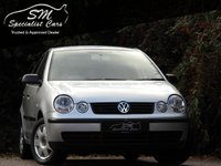 USED 2005 05 VOLKSWAGEN POLO 1.4 TWIST 5d AUTO 74 BHP 1 OWNER ULTRA LOW MILES FSH AC