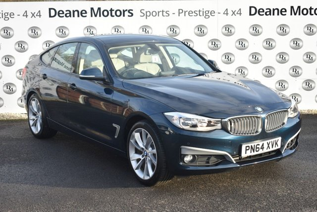 2014 64 BMW 3 SERIES GRAN TURISMO 2.0 320D MODERN GRAN TURISMO 5d AUTO 181 BHP MASSIVE SPECIFICATION