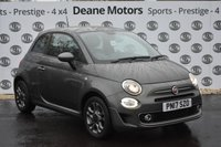USED 2017 17 FIAT 500 1.2 S 3d 69 BHP 1 OWNER