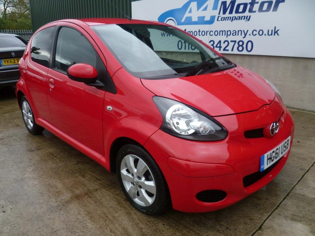 USED 2012 61 TOYOTA AYGO 1.0 VVT-i GO 5dr SAT-NAV, LOW MILEAGE,AIR-CON