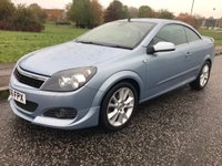 2006 VAUXHALL ASTRA 1.8 i Design Twin Top 2dr £1695.00