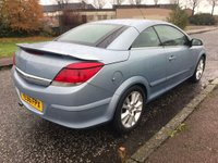 USED 2006 56 VAUXHALL ASTRA 1.8 i Design Twin Top 2dr Low Miles ! Superb Value !