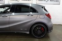 USED 2015 65 MERCEDES-BENZ A CLASS 2.0 A45 AMG (Premium) SpdS DCT 4MATIC (s/s) 5dr 1 PRIVATE OWNER! STUNNING!!