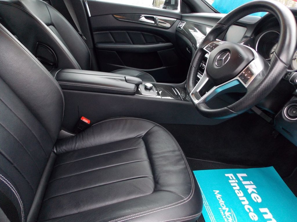 USED 2014 14 MERCEDES-BENZ CLS CLASS 2.1 CLS250 CDI BLUEEFFICIENCY AMG SPORT 4d AUTO 204 BHP