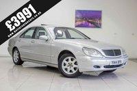 2001 MERCEDES-BENZ S CLASS 5.0 S500 4d AUTO 302 BHP £3991.00