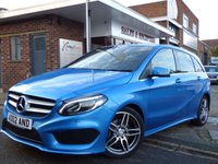 USED 2016 02 MERCEDES-BENZ B-CLASS 2.1 B 200 D AMG LINE PREMIUM 5d 134 BHP FULL MERCEDES SERVICE HISTORY AND ONLY £20 A YEAR TO TAX - AUTOMATIC