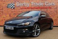 2012 VOLKSWAGEN SCIROCCO 2.0 GT TDI DSG 2d AUTO 170 BHP £9500.00