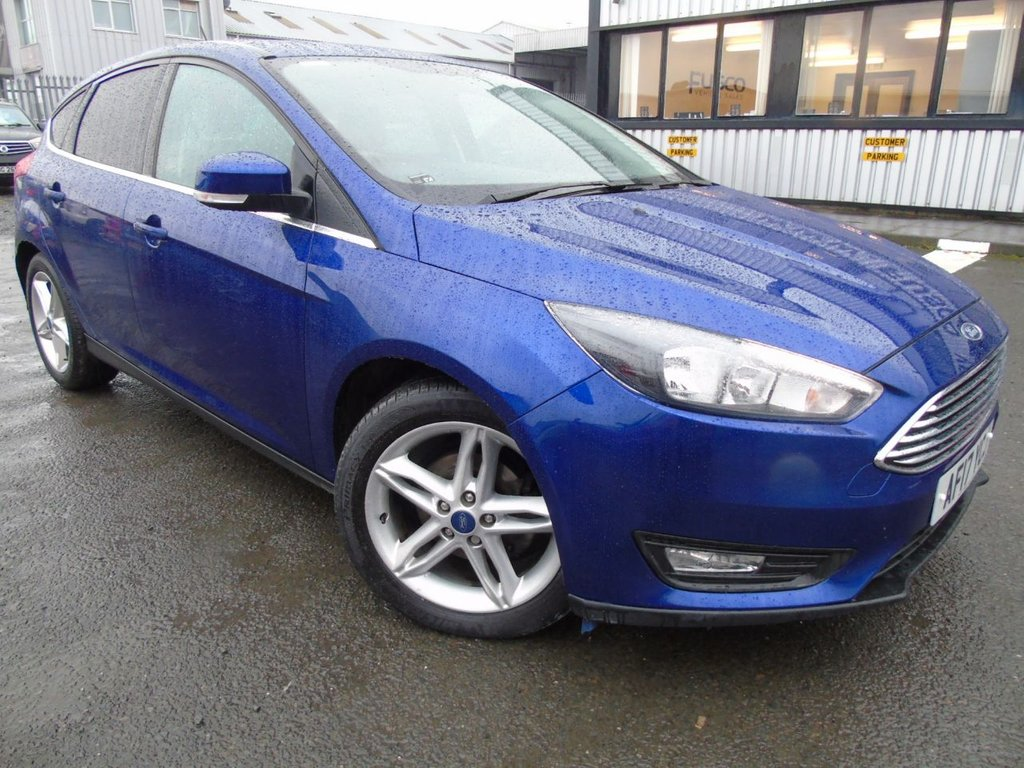 USED 2017 17 FORD FOCUS 1.5 ZETEC EDITION TDCI 5d 118 BHP £216 a month, T&Cs apply.