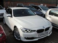 2014 BMW 3 SERIES 2.0 320D LUXURY 4d AUTO 184 BHP £12499.00