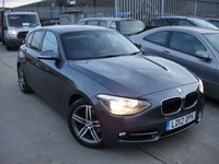 USED 2012 12 BMW 1 SERIES 1.6 118I SPORT 5d 168 BHP ANY PART EXCHANGE WELCOME, COUNTRY WIDE DELIVERY ARRANGED, HUGE SPEC