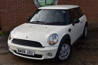 2009 MINI HATCH FIRST 1.4 FIRST 3d 75 BHP £3240.00