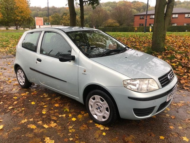 USED 2004 54 FIAT PUNTO 1.2 8V ACTIVE 3d 59 BHP TAKEN IN PART EXCHANGE BY OUR SELVES AND SOLD ON A TRADE SALE BASIS . MOT UNTIL MARCH 2020 , LOCALLY OWNED WITH VERY LOW MILEAGE . A GOOD CLEAN CAR .