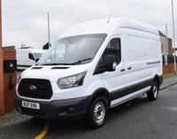 USED 2017 17 FORD TRANSIT 2.0 350 L3 H3 LWB HIGH ROOF 129 BHP