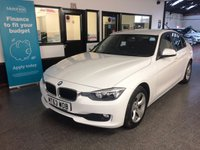 USED 2014 63 BMW 3 SERIES 2.0 320D EFFICIENTDYNAMICS 4d 161 BHP This 320D Efficient Dynamics is finished in Alpine white with cloth seats. It is fitted with power steering, Navigation, remote locking, rear park control, electric windows, dual zone climate control, cruise control, rear parking sensors,  Bluetooth, auto headlights,  alloy wheels, CD Stereo with USB & Aux port and more. Its EGR cooler has been checked and no action is required (BMW Recall). We will supply the car with 12 months MOT free of advisory notice, a service and 6 months RAC warranty.